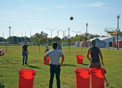 UBF has partnered with the Beehive Sport & Social Club, an outdoor, adult rec league, who will bring games such as beer pong and squirt-gun fights. Photo courtesy of City Weekly.