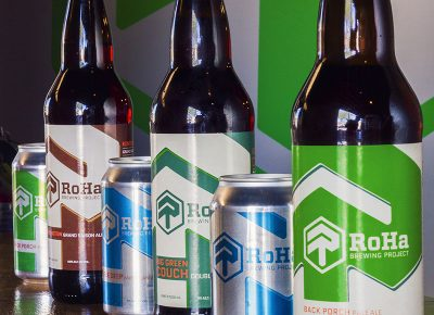 RoHa opened their doors on April 21 with two on-draft beers, both sitting at 4-percent alcohol by volume (ABV). Photo: Talyn Sherer.