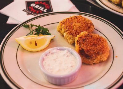 A Tastemakers personal favorite, the crab cakes from Market Street Grill. Photo: Talyn Sherer