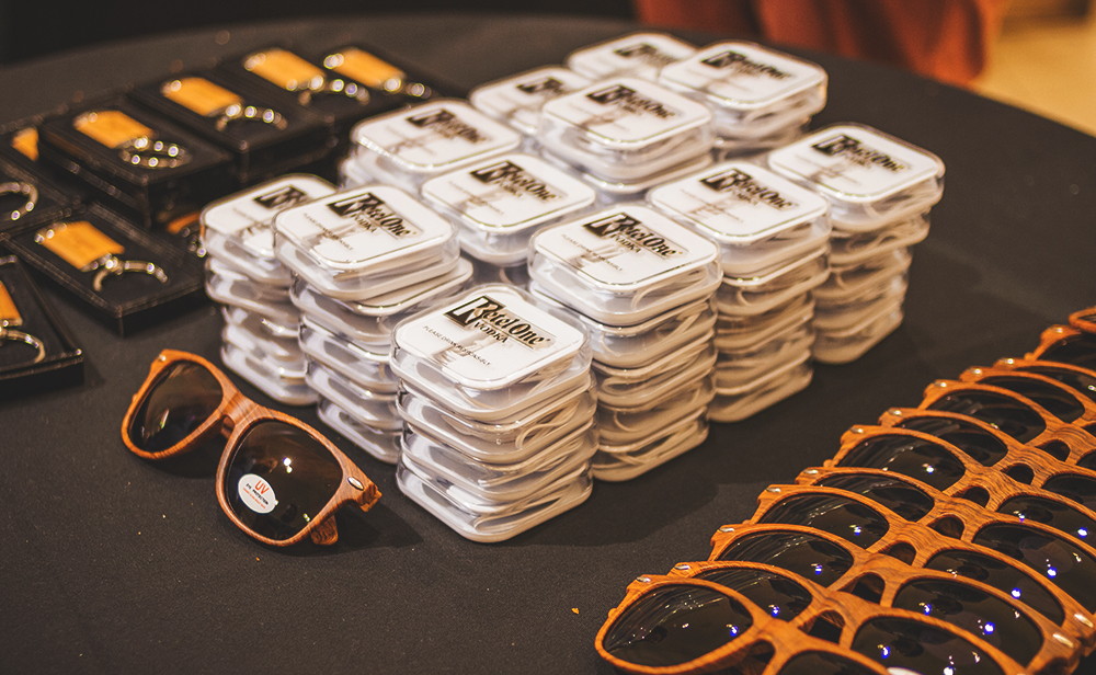 This year's VIP swag was a practical gift for those looking to relax in the sun all day, courtesy of Kettle One Vodka, Bulleit Bourbon and Don Julio Tequila. Photo: Talyn Sherer