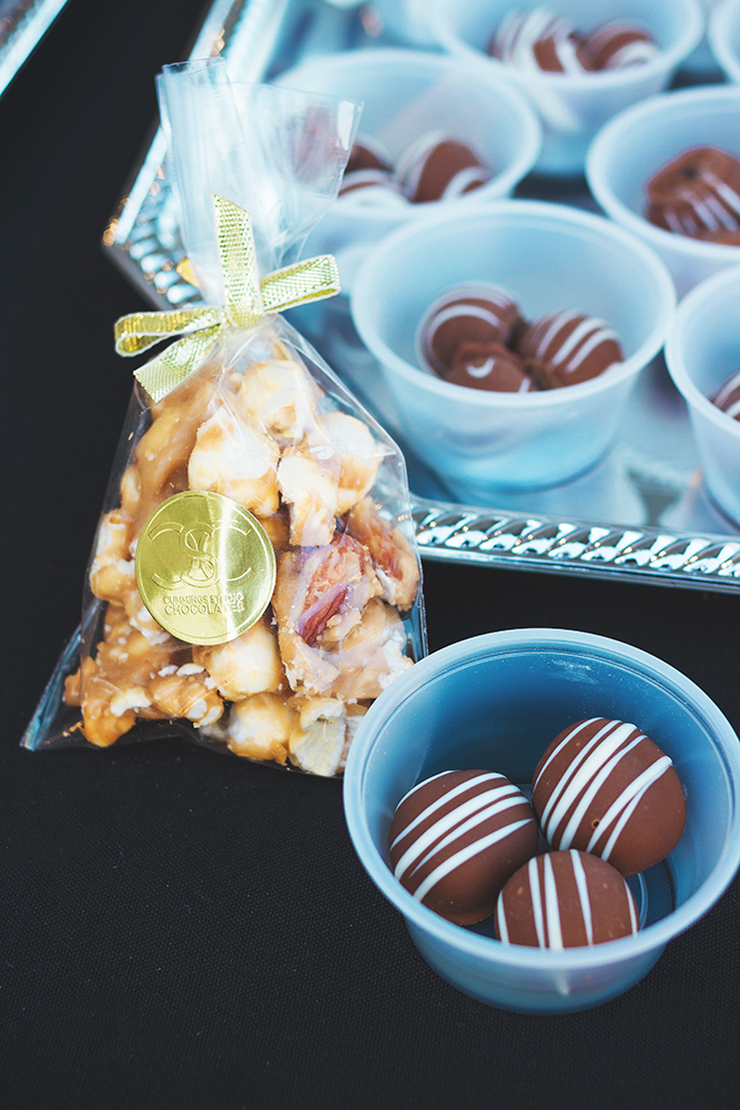 Caramel corn and chocolate-covered grapes from Cummings Studio Chocolate. What more could you ask for? Photo: Talyn Sherer