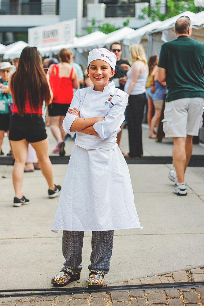 Penelope Lorenzana is the youngest chef to be admitted to the Park City Culinary Institute and is on her way to Food Network stardom in the very near future. Photo: Talyn Sherer