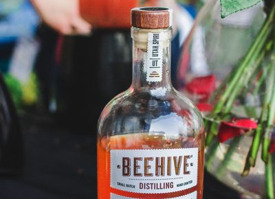 The Beehive Distilling Barrel Reserve Gin is a refined creation that cannot even be described in caption form. Photo: Talyn Sherer