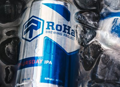 Utah's newest beer craze RoHa Brewing Project let us sample their award-winning brew Thirsty Thursday IPA. Photo: Talyn Sherer