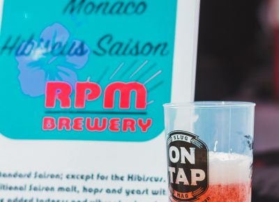 One of my top brews of the day came from Utah's newest brewery sensations RPM's Monaco Hibiscus Saison. Photo: Talyn Sherer