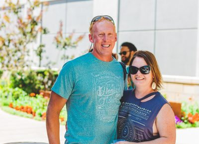 (L–R) Utah Brew Tours owners Jeremy and Tiffany Isbell are looking to provide a safe and informative way for beer lovers to learn about all the tastings Utah has to offer. Photo: Talyn Sherer