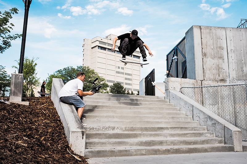 Skate Photo Feature: Gabe Spotts