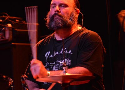 Kirk Highberger of The Delta Bombers. Photo: Andy Fitzgerrell
