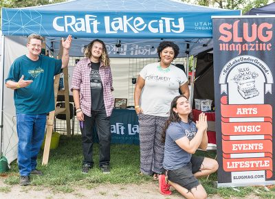 Craft Lake City and SLUG bring you the creativity crew. Photo: ColtonMarsalaPhotography.com