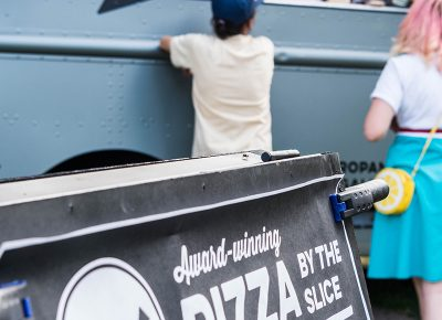 Award-winning local pizza from Lucky Slice. Photo: ColtonMarsalaPhotography.com