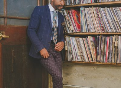 """Speaking of style icons that inspire him, Joshy Soul lists, """"Little Richard, Jackie Wilson—Marvin Gaye had some cool style, really different than a lot of people that I like. Even just seeing the simplicity of Buddy Holly was cool, too. But nowadays, I think André 3000—Outkast—he always has pushed the boundaries, and so I love his little twist on the Southern gentleman mixed with a modern man."""" Photo: @clancycoop"""