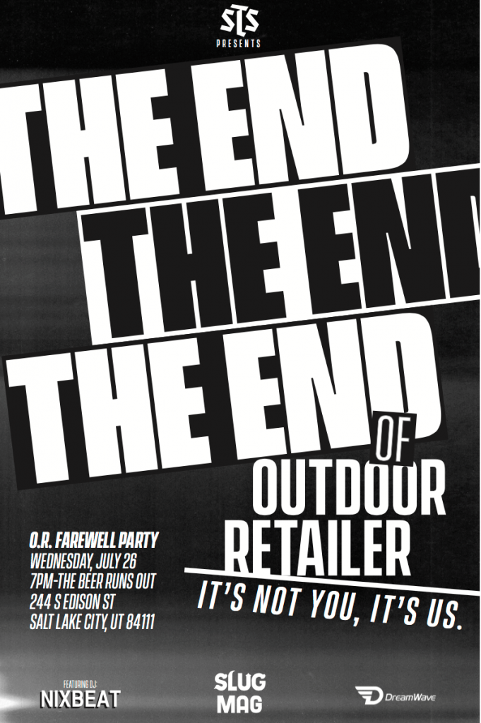 The End of Outdoor Retailer // O.R. Farewell Party