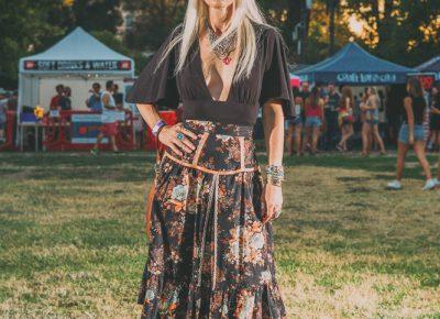 We loved that Tessa Stephensen wore her prairie dress a little bit Wilder than Laura Ingalls. Photo: @clancycoop