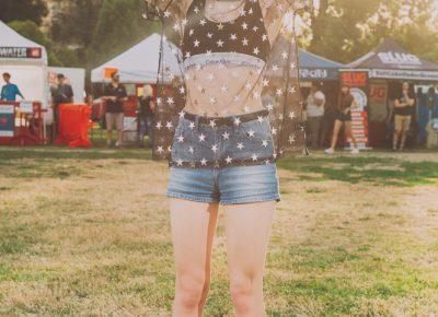 Hannah Carlisle was inspiring in a sheer and upbeat ensemble. Photo: @clancycoop