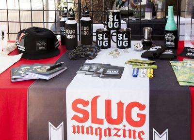 SLUG shows all sorts of swag at their table. Photo: @jbunds