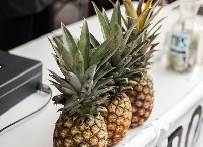 The pineapples at Project Pineapple sure looked tasty! Photo: Chris Gariety