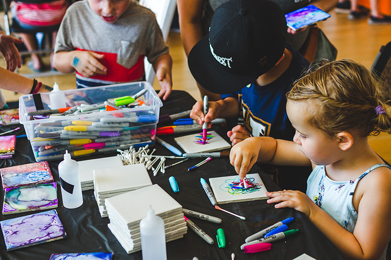 Future CLC artists begin the first steps into finding their niche in the market. Photo: @taylnshererphoto