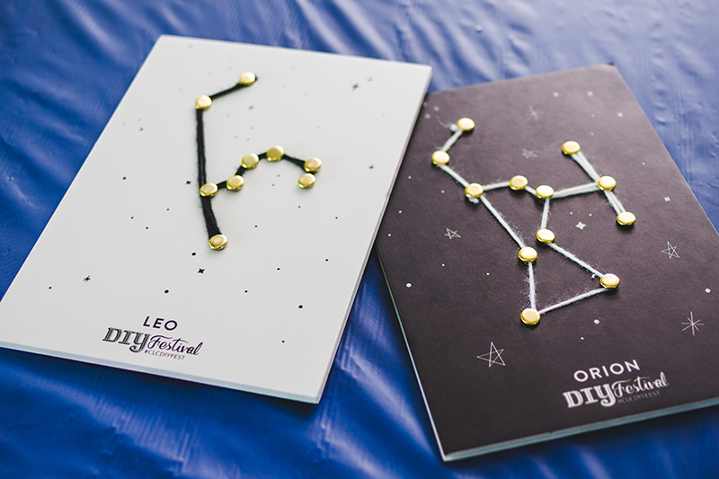 One of my favorite DIY activities was the constellation creation piece in the Kids' Area. Photo: @taylnshererphoto