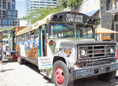 The Green Urban Lunchbox promoting a greener, healthier and stronger community. @cezaryna