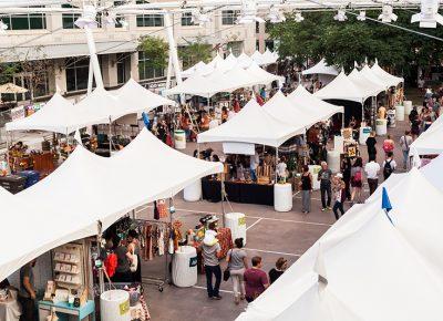 So many vendors, so many things! Photo: Chris Gariety