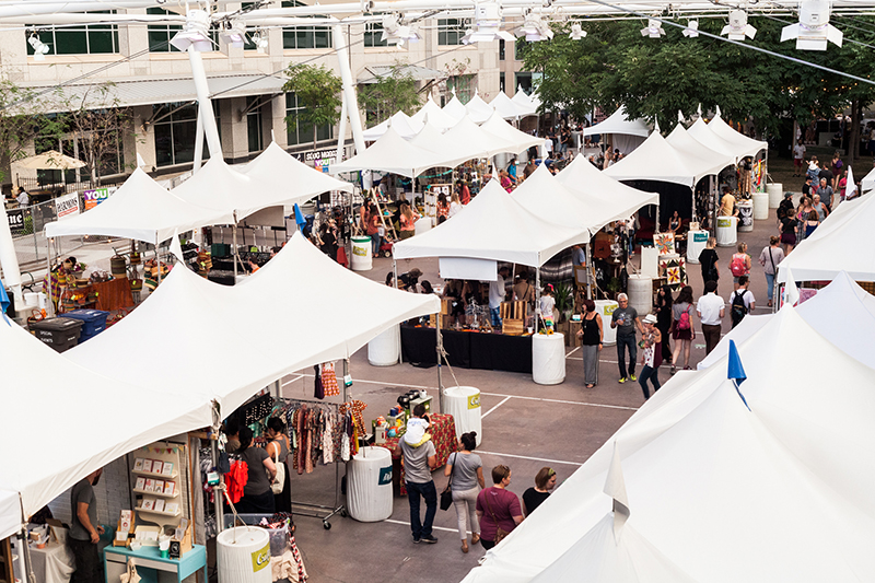 So many vendors, so many things! Photo: Chris Gariety