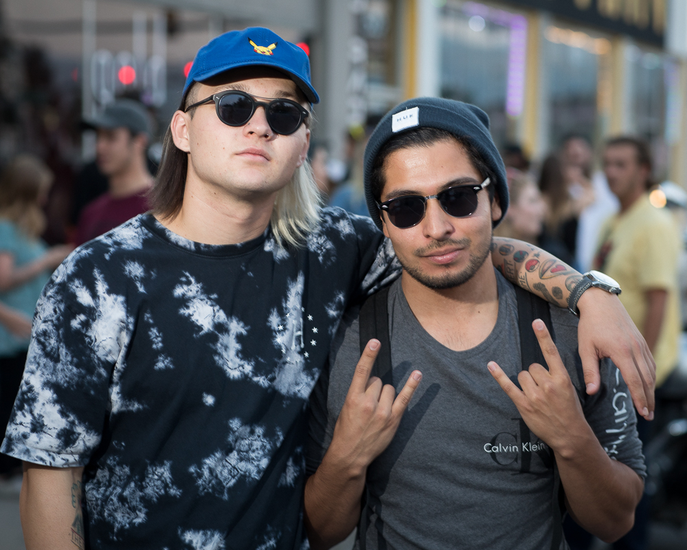 (L–R) Rapper Radius and DJ/producer Malixe figure that their style fluctuates, but for anyone looking for a reference point, Radius might best be compared to Tyler the Creator. Photo: John Barkiple