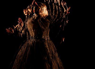 Yuki Kihara, Siva in Motion. Image courtesy of the artist and the Utah Museum of Fine Arts