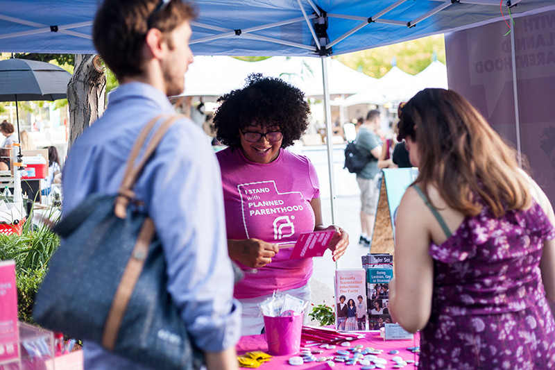 Planned Parenthood's Annie helps everyone learn about their bodies! Photo: Chris Gariety