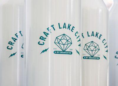 The super cool Craft Lake City water bottles. Photo: @colton_marsala