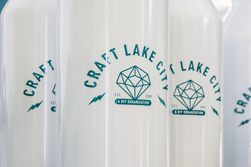 The super cool Craft Lake City water bottles. Photo: @colton_marsala