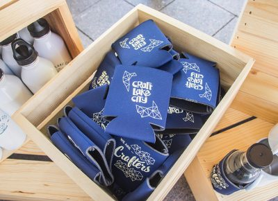 They even had beer koozies! Photo: @colton_marsala