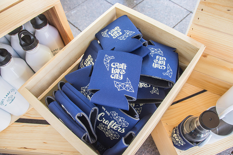 They even had beer koozies! Photo: @colton_marsala