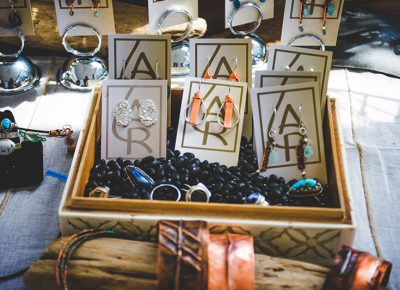 Asia Raine Designs shows off their unique display of craft jewelry. Photo: @taylnshererphoto