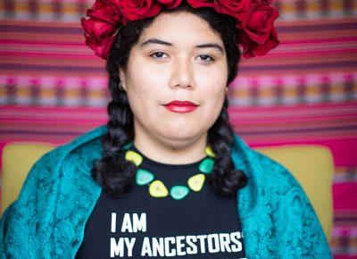 Ella Mendoza. Photo: John Barkiple