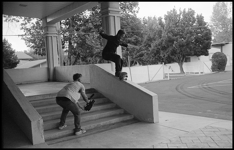 Matt Fisher, 180 nose grind. Photo: Sam Milianta
