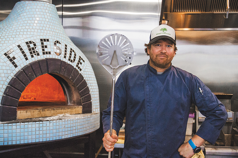 Power to the Pizza: Chef Michael Richey Brings Central Italy to Regent Street