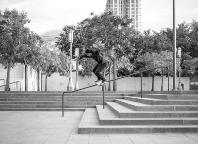 Caveman boardslide. Photo: @ca_visual