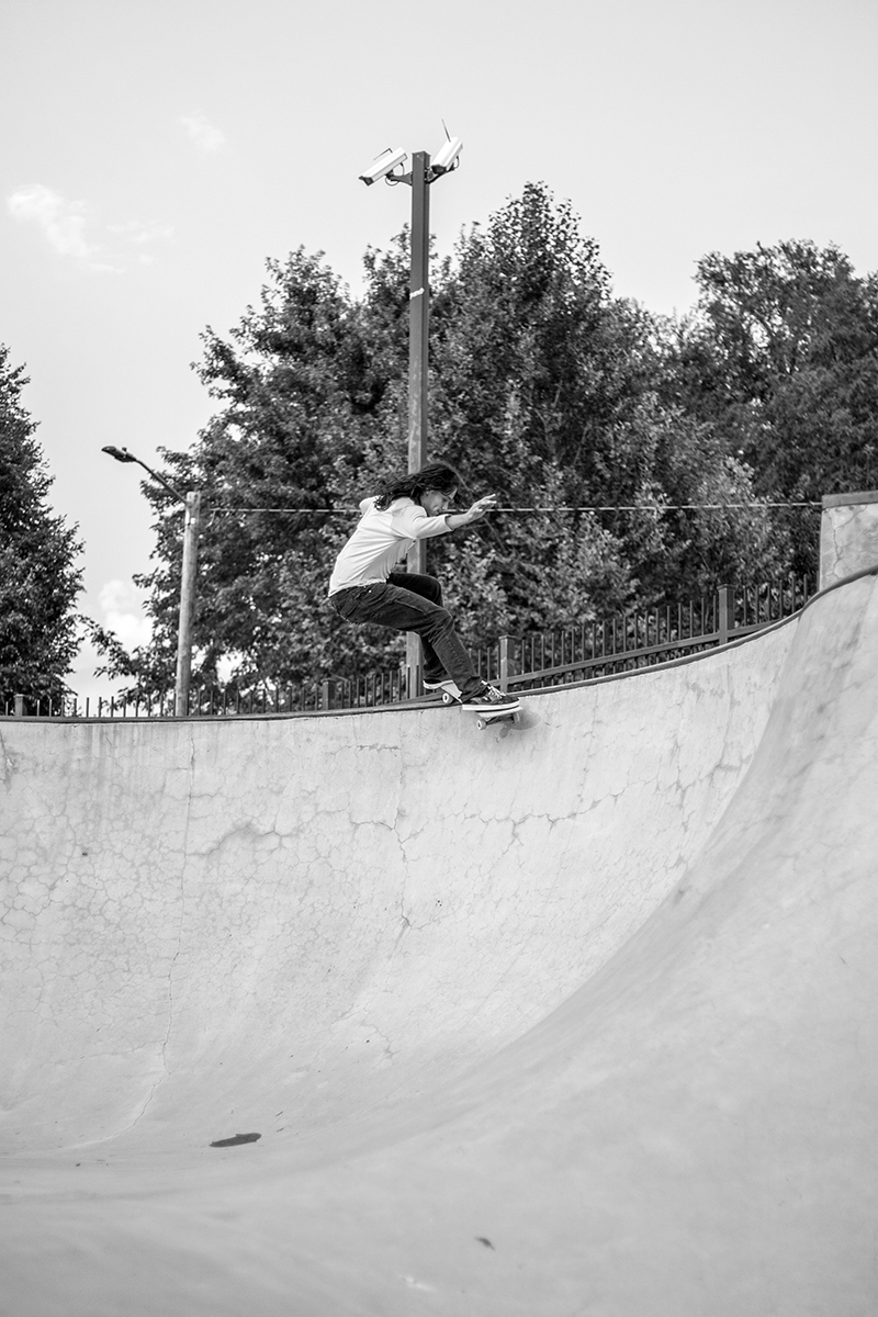 Frontside smith grind. Photo: @ca_visual