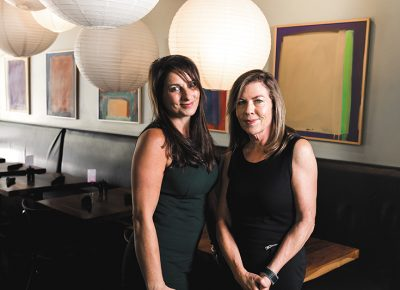 Photo: LmSorenson.net (L–R) Executive Director Michele Corigliano and Chair Tamara Gibo lobby via the Salt Lake Area Restaurant Association (SLARA) to educate legislators and inspirit Utah-restaurant camaraderie.