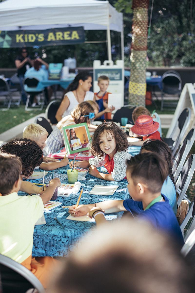 Collaboration in the Kids' Area. Photo: @william.h.cannon