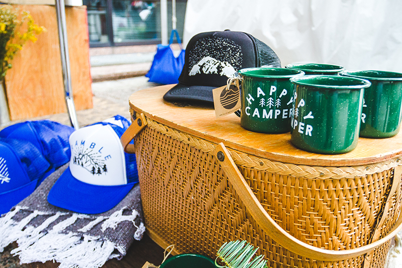 Holdfast Outfitters took us to the great outdoors with their camp-inspired products. Photo: @taylnshererphoto