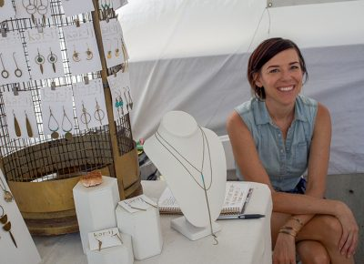 Ker-ij Jewelry Design—always smiling, her art is definitely some that stands out. @cezaryna