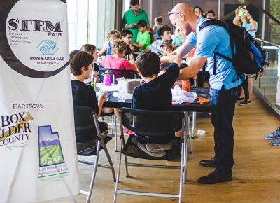 The Boys and Girls Club of Utah held a demonstration for the kids to learn the fine art of engineering. Photo: @taylnshererphoto