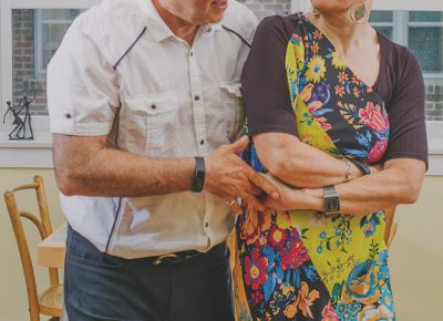 Gerda and her husband, Peter Saunders, dance the salsa as they have done since the 1980s. Photo: @clancycoop