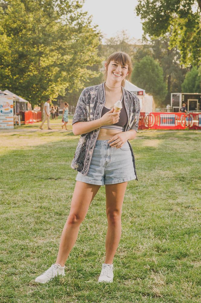 Marisa Jaskowski seemed to be summer incarnate. Photo: @clancycoop