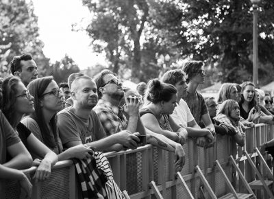 The Twilight crowd listens to the hauntingly beautiful sounds of the Handsome Family. Photo: ColtonMarsalaPhotography.com