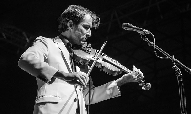 Andrew Bird takes the Twilight stage for his second time in seven years. Photo: ColtonMarsalaPhotography.com