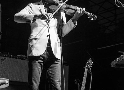 Opening his set with a violin solo. Photo: ColtonMarsalaPhotography.com