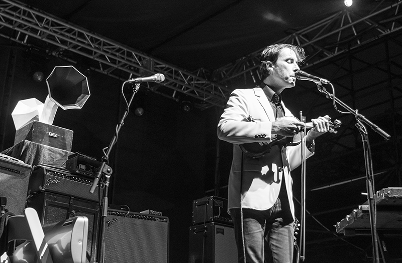 Andrew Bird's whistle was magical to hear in person. Photo: ColtonMarsalaPhotography.com