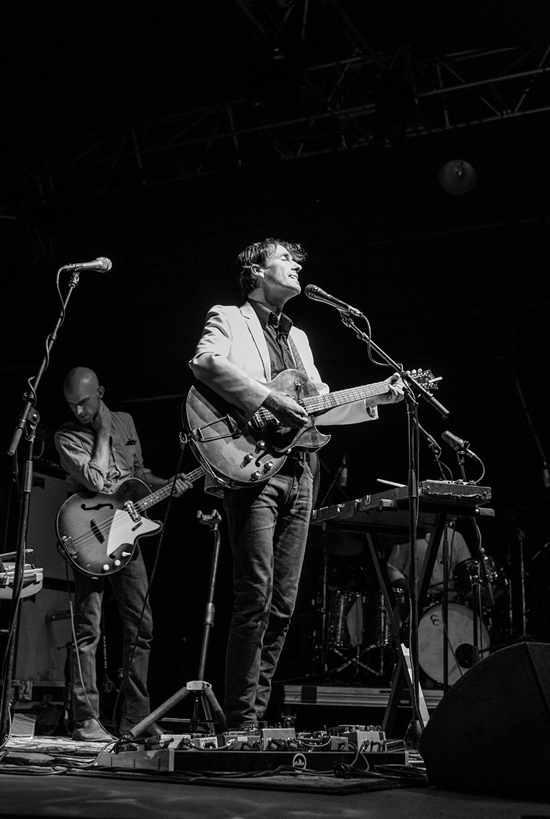 Andrew Bird put on a topnotch production and was very entertaining to watch. Photo: ColtonMarsalaPhotography.com